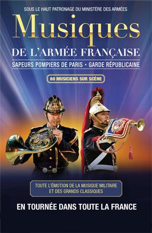 Plus d'infos sur l'évènement MUSIQUES DE L'ARMEE FRANCAISE
