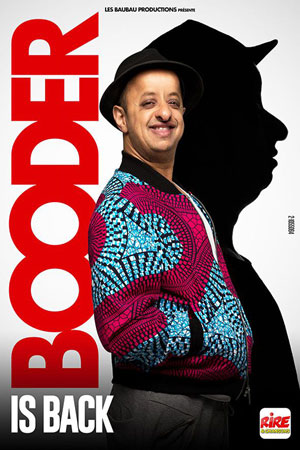 BOODER IS BACK OMEGA LIVE one man/woman show