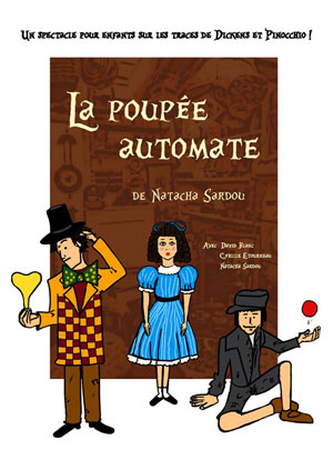 LA POUPEE AUTOMATE ROOM CITY spectacle pour enfant