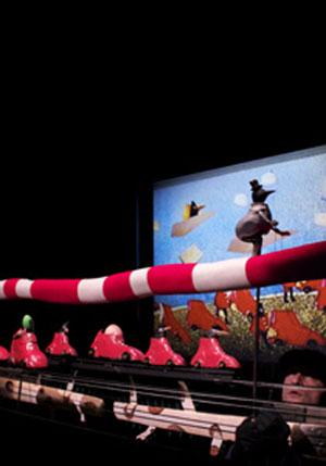 LA QUEUE DE MONSIEUR KAT THEATRE LE MOUFFETARD spectacle pour enfant