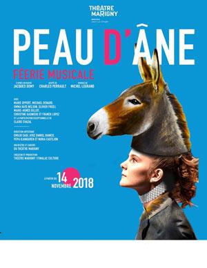PEAU D'ANE Théâtre Marigny pièce de théâtre musical