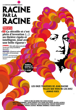RACINE PAR LA RACINE Théâtre Essaion de Paris pièce de théâtre contemporain