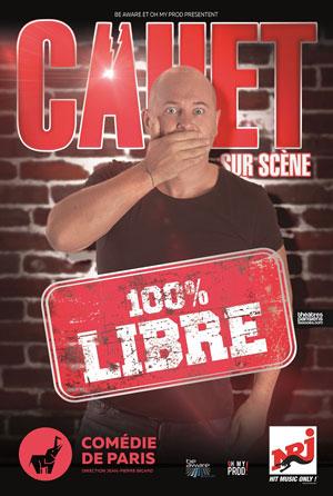 CAUET Comédie de Paris one man/woman show