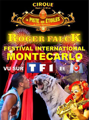 CIRQUE LA PISTE AUX ETOILES CHAPITEAU cirque