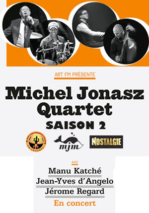 Plus d'infos sur l'évènement MICHEL JONASZ