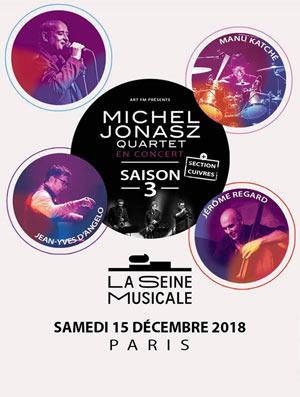 MICHEL JONASZ QUARTET SAISON 3 La Seine Musicale concert de jazz