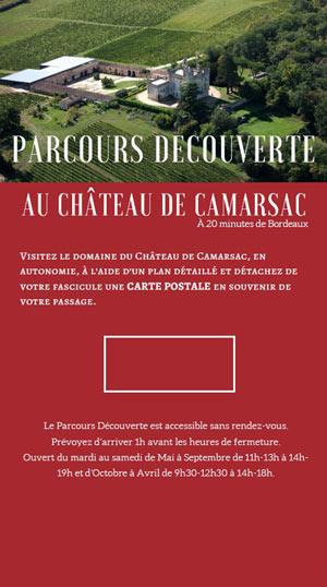 PARCOURS DECOUVERTE Château de Camarsac activité, loisir