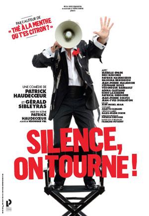 SILENCE, ON TOURNE Théâtre Sébastopol pièce de théâtre contemporain