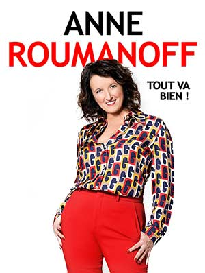 ANNE ROUMANOFF LE PRISME one man/woman show