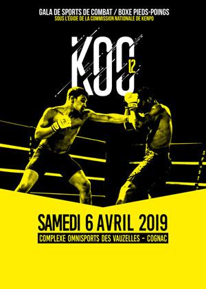 KNOCK OUT CHAMPIONSHIP 12 Complexe Omnisports rencontre, compétition de boxe