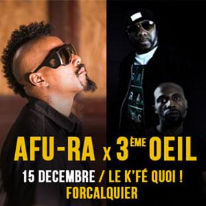 AFU-RA X 3E OEIL K'FE QUOI concert de musique contemporaine