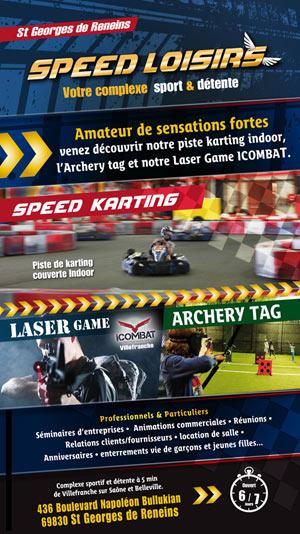 ICOMBAT LASER GAME SPEED LOISIRS - KARTING activité, loisir