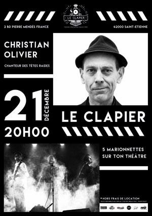 Plus d'infos sur l'évènement C.OLIVIER (TETES RAIDES)