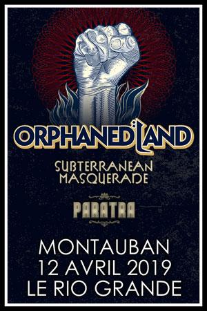Plus d'infos sur l'évènement ORPHANED LAND + SUBTERRANEAM