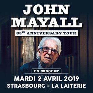Plus d'infos sur l'évènement JOHN MAYALL