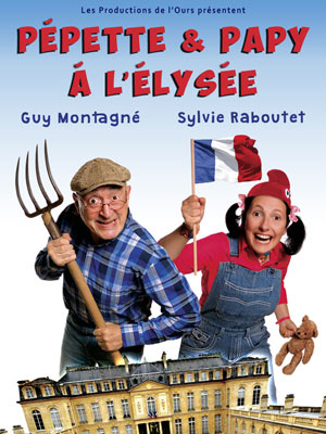 PEPETTE & PAPY A L'ELYSEE THEATRE MONSABRE one man/woman show