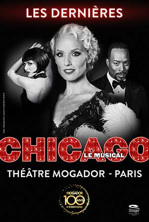CHICAGO Théâtre Mogador spectacle