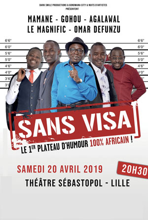 Plus d'infos sur l'évènement SANS VISA