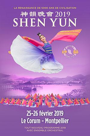 SHEN YUN Le Corum spectacle de danse traditionnelle
