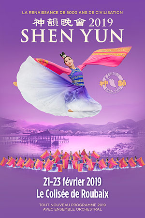 SHEN YUN LE COLISEE ROUBAIX spectacle de danse traditionnelle