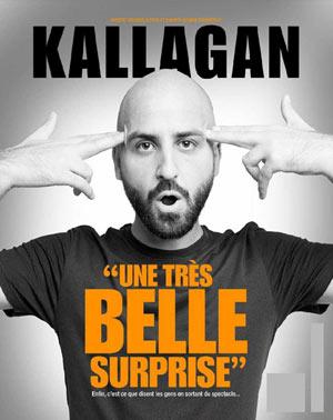 KALLAGAN LA NOUVELLE COMEDIE GALLIEN one man/woman show