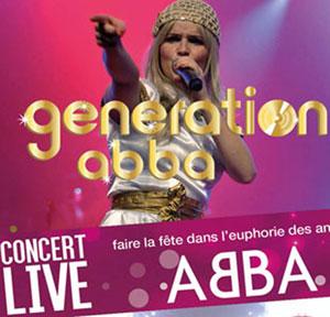 Plus d'infos sur l'évènement GENERATION ABBA