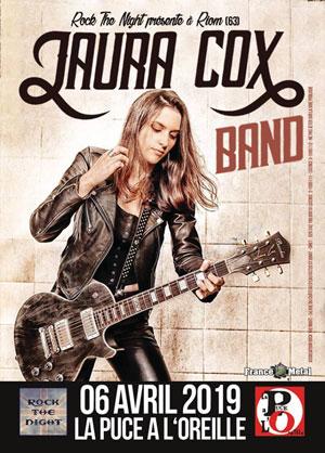 LAURA COX BAND La Puce à l' Oreille concert de rock
