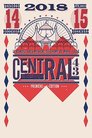 CENTRAL 43 - PASS 2 JOURS ESPLANADE DU CHAMPS DE MARS concert d'électro