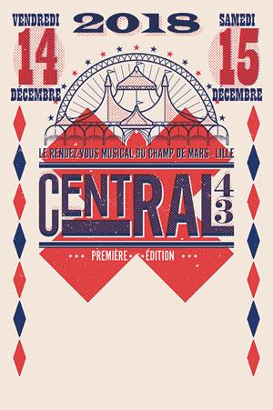 CENTRAL 43 ESPLANADE DU CHAMPS DE MARS concert d'électro
