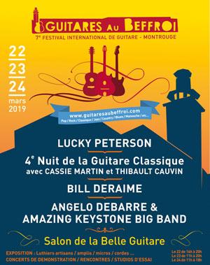 FEST. GUITARES AU BEFFROI - PASS 3J THEATRE BEFFROI concert de jazz