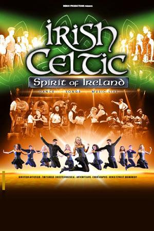 IRISH CELTIC THEATRE MUNICIPAL D'ABBEVILLE spectacle de danse traditionnelle