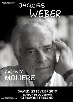 Plus d'infos sur l'évènement JACQUES WEBER RACONTE MOLIERE
