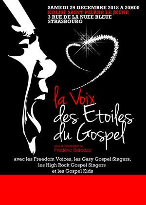 Plus d'infos sur l'évènement LA VOIX DES ETOILES DU GOSPEL