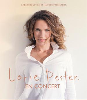 LORIE PESTER Théâtre de Longjumeau concert de chanson française