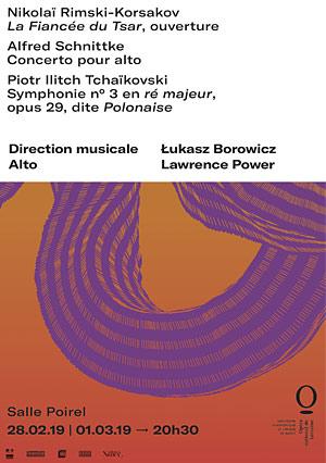 RIMSKI-KORSAKOV Salle Poirel opéra