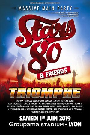 Plus d'infos sur l'évènement STARS 80 & FRIENDS