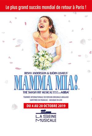 MAMMA MIA! La Seine Musicale comédie musicale