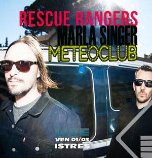 Plus d'infos sur l'évènement RESCUE RANGERS+MARLA SINGER+