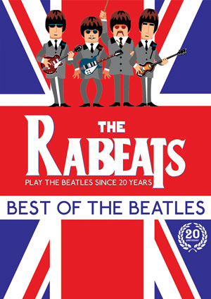 THE RABEATS - HOMMAGE AUX BEATLES P.M.C. concert de rock