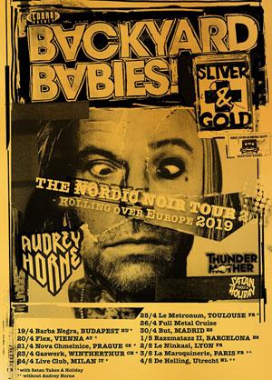 Plus d'infos sur l'évènement BACKYARD BABIES + AUDREY HORNE