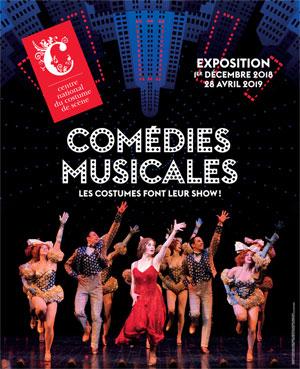 COMÉDIES MUSICALES Centre National du Costume de Scène exposition