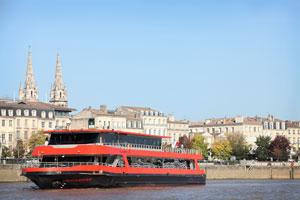 DEJEUNER-CROISIERE SUR LE SICAMBRE Ponton Bordeaux River Cruise événement