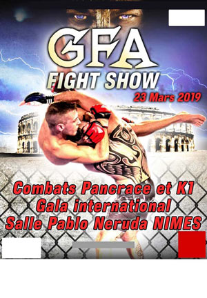 GLADIATOR FIGHTING ARENA SALLE PABLO NERUDA rencontre, compétition de sport de combat