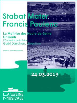 LA MAITRISE DES HAUTS-DE-SEINE La Seine Musicale concert de musique classique