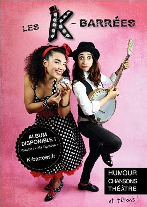 K.BARREES THEATRE DES GRANDS ENFANTS concert de chanson française