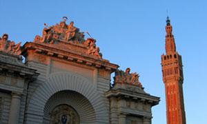 BEFFROI DE L'HOTEL DE VILLE PLACE ROGER SALENGRO visite de monument