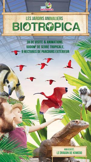 BIOTROPICA BIOTROPICA CD 110 visite de parc animalier