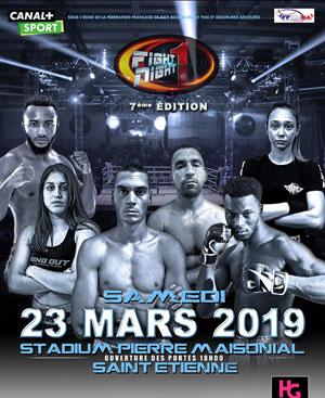 FIGHT NIGHT ONE STADE PIERRE MAISONNIAL rencontre, compétition de boxe