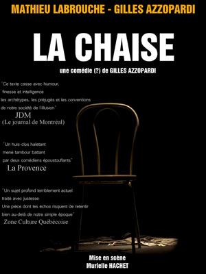 LA CHAISE Le Quai du Rire spectacle de café-théâtre