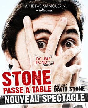 STONE PASSE A TABLE Le Double Fond spectacle de magie pour enfant